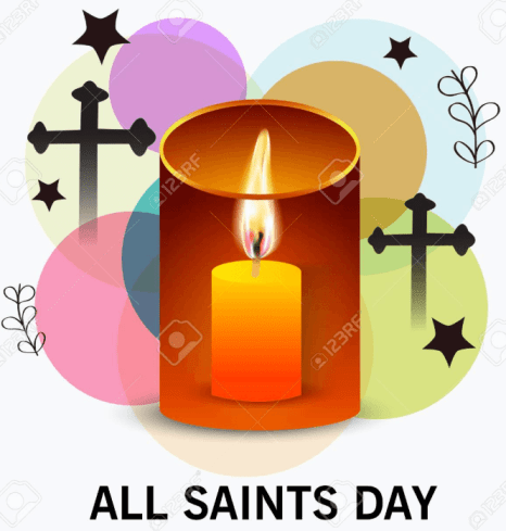 All Saints Day Frame