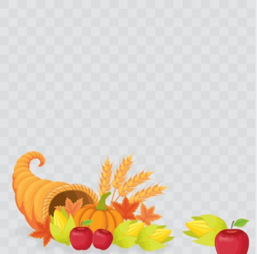Happy Thanksgiving Day Profile Frame