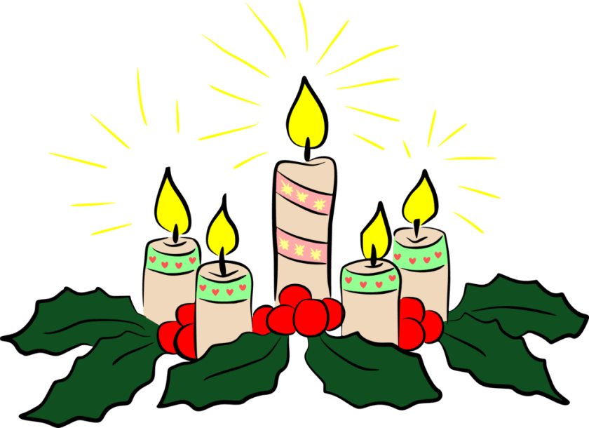 Advent Candles Profile Frame