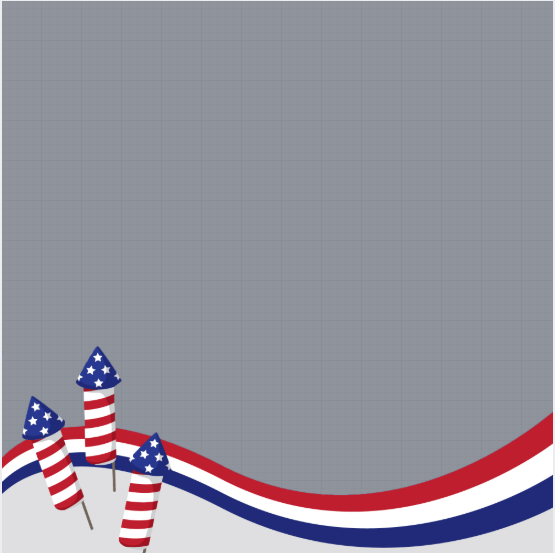 USA Independence Day Profile Frame