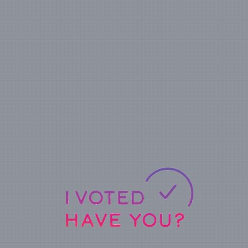 I Voted Frame