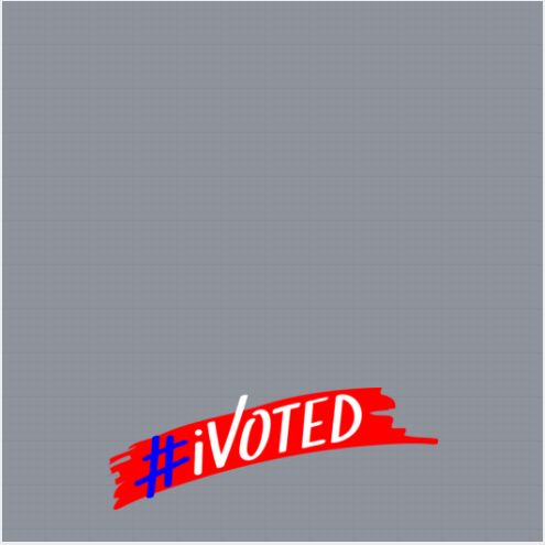 I Voted Profile Frame