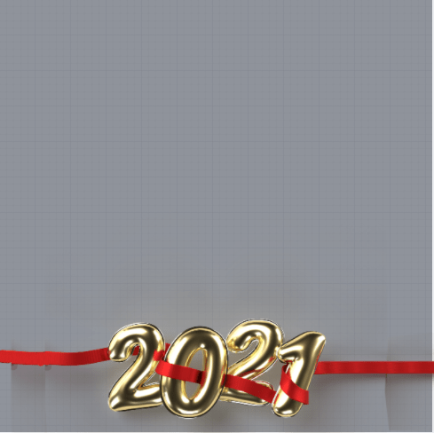 New Year 2021 Frame