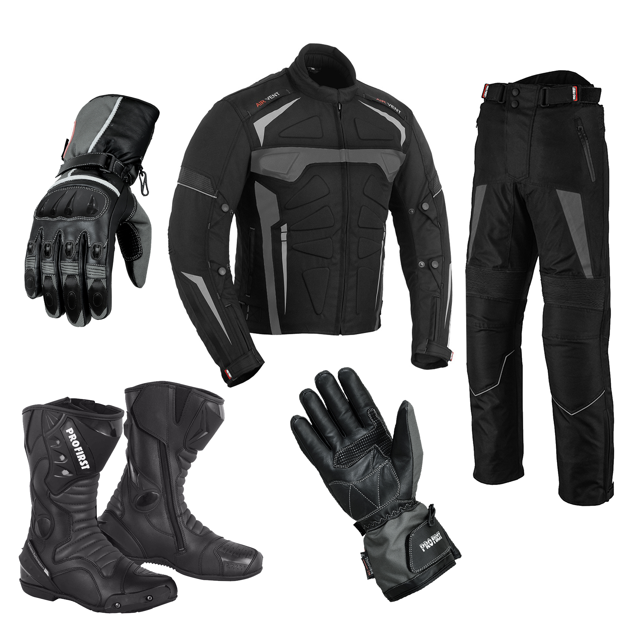 Jackets And Motorcycle Boots