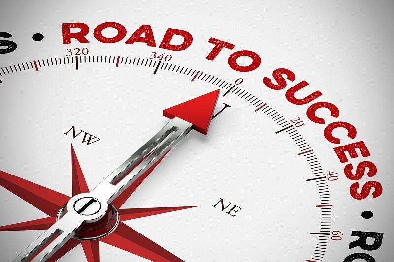 Passos para o sucesso