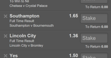 11 Odd Free Saturday Accumulator.