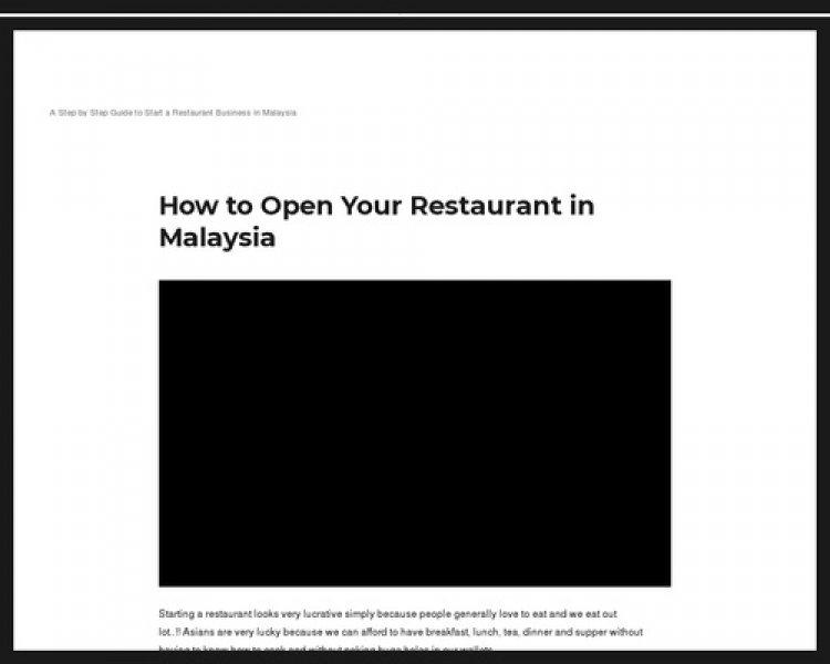 How To Open Your Restaurant In 8 Weeks