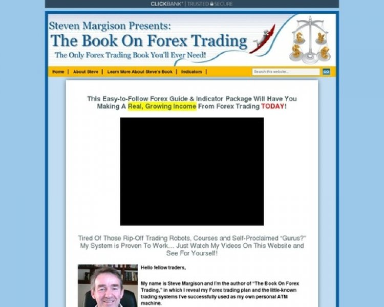 Steve Margison's: The Book On Forex Trading – Proven To Convert