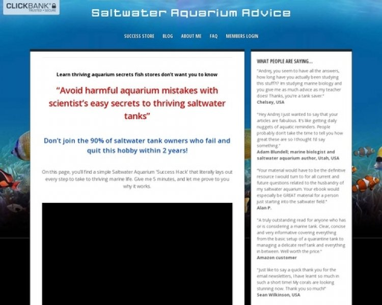 Ultimate Secrets To Saltwater Fish And Invertebrates