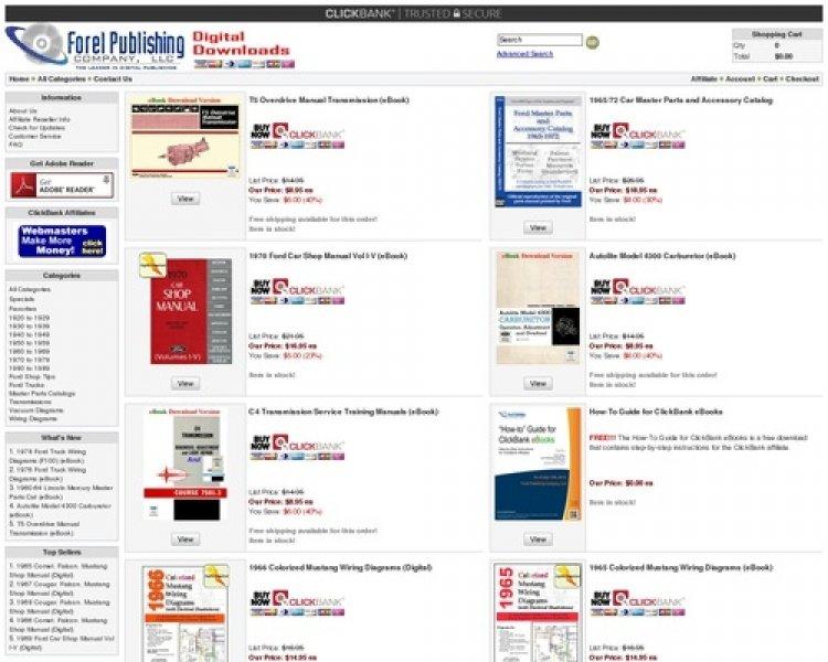 Ebooks – Ford Shop Manuals And Service Manuals