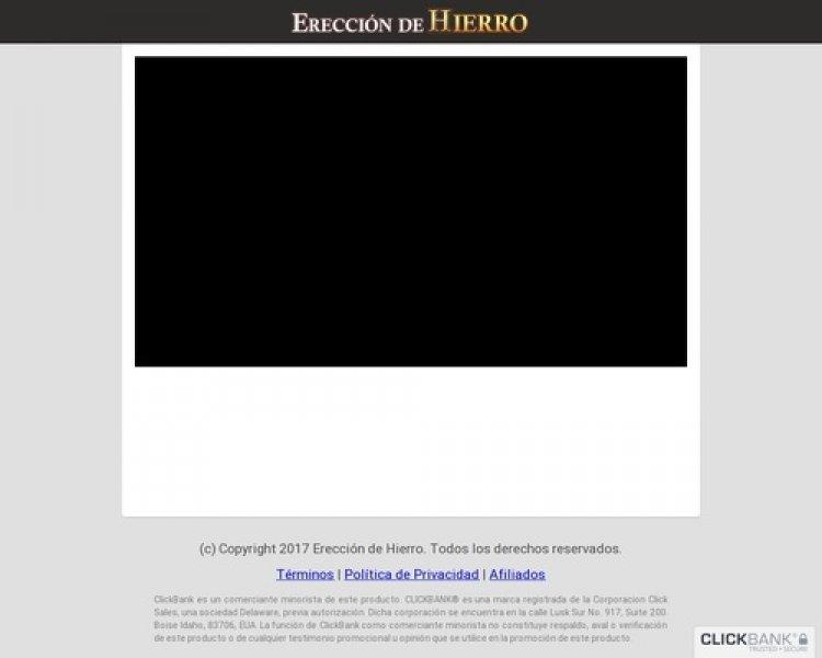 Ereccion De Hierro ** La Sorpresa Del 2017 ** Mas De $30 Por Venta