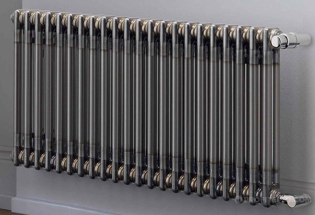 rørformet radiator.