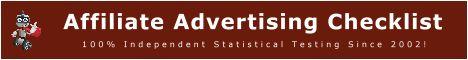 Affiliate Advertising Checklist