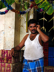 India - Koyambedu Market - Faces 38