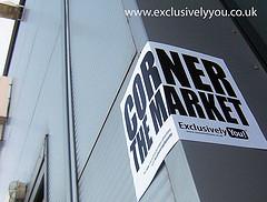 corner the market