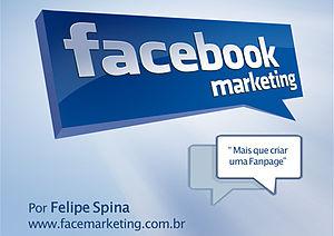 Português: Capa do ebook Facebook Marketing