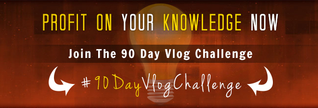 Profit On Knowledge | 90 Day Vlog Challenge