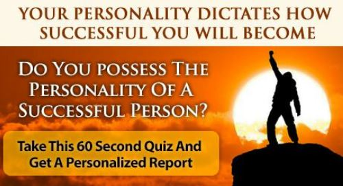Manifestation Millionaire Success Personality Quiz 95% Accurate
