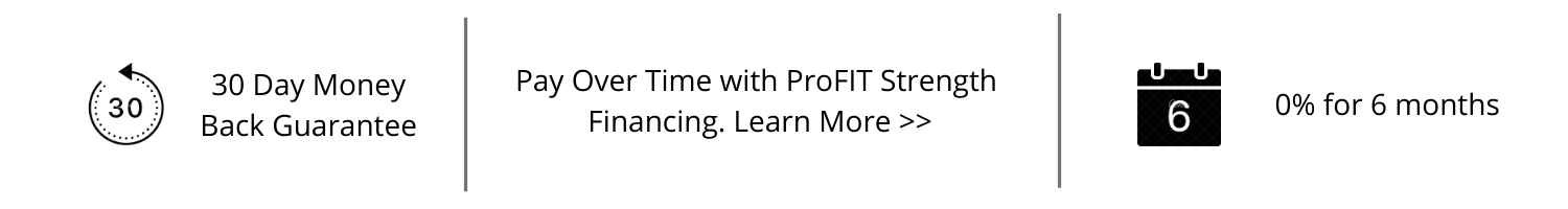 Financing Home Fitness Products with ProFIT Strength