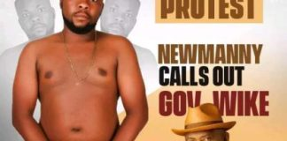 Comedian Newman Chinda Goes Naked, Beg Gov Wike For Appointment