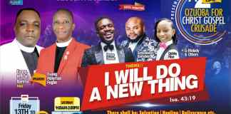 Apostolic Church, Ozuoba Assembly Presents Ozuoba for Christ Gospel Crusade, Port Harcourt
