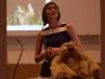 Professor Helen Chatterjee delivering 2015 Robert Grant Memorial Lecture
