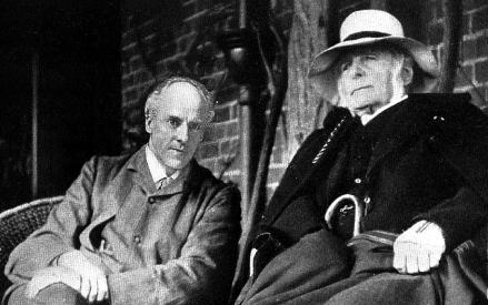 Karl Pearson and Francis Galton