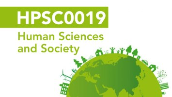 HPSC0019 Human Sciences and Society, UCL Department of Science and Technology Studies (STS)