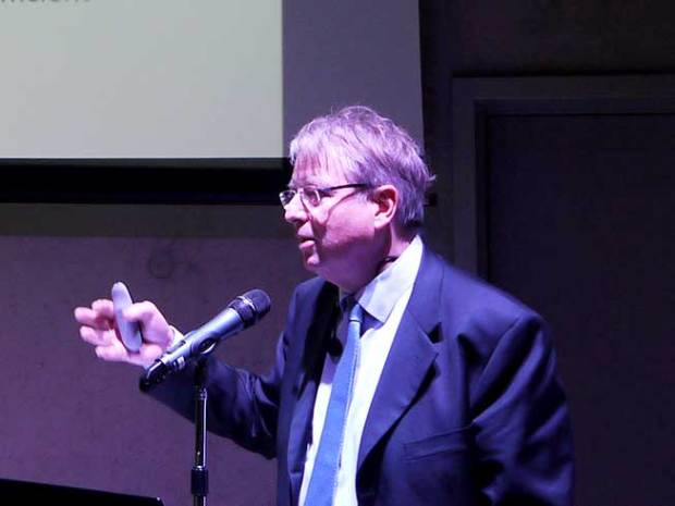 Professor Debackere (KUL), foto J. Goubert