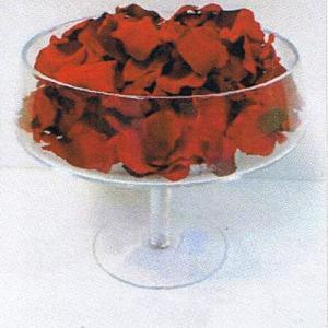 Petalas artificiais vermelhas 250 uni