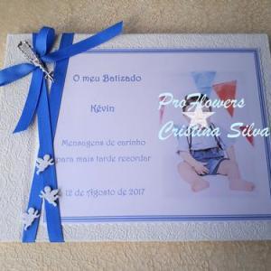 Livro de honra personalizado com foto