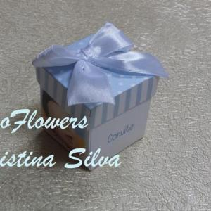 Convite caixa com impressão interior e exterior