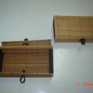 Caixa de bambu 12x6x3,5cm