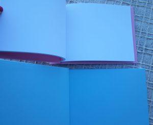 Livro de honra liso (sem personalização) texturado 1
