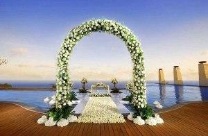 Arco para casamentos 3