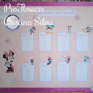 Placard Tema Minnie