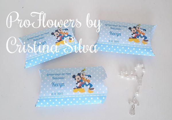 Caixa de cartolina personalizada com dezena 2