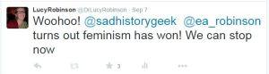 feminism won
