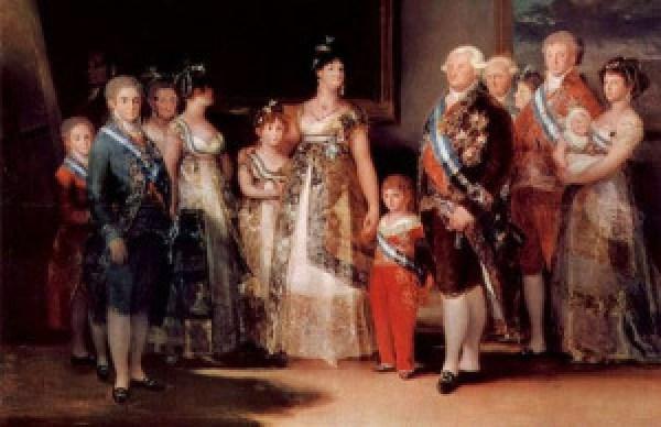 """""""La famille de Charles IV"""" (Goya, 1800)"""