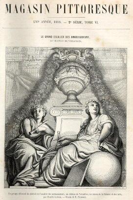 """Une du """"Magasin Pittoresque"""" - 1888"""