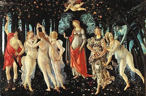 Botticelli, Le Printemps, 1478-1482