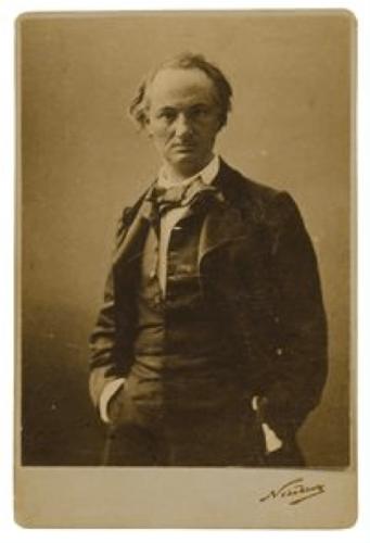Baudelaire par Nadar, 1855