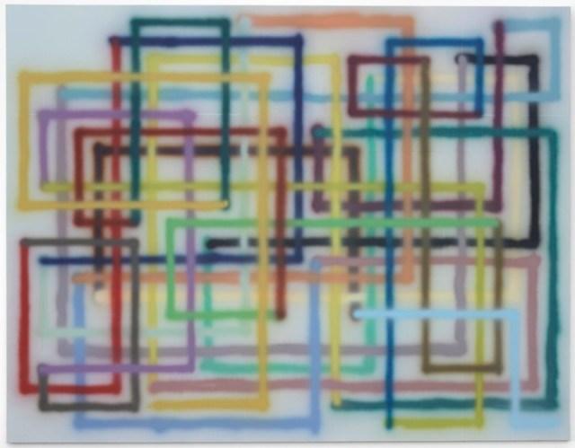 "Bernard Frize, ""Opa"", 2007"