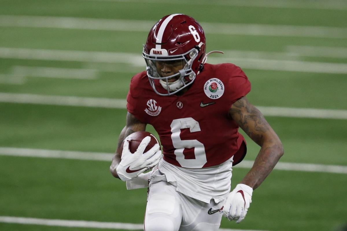 Devonta Smith 2021 NFL draft