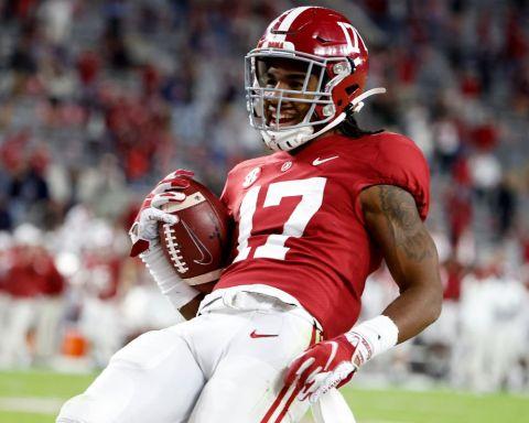 Jaylen Waddle 2021 NFL Draft