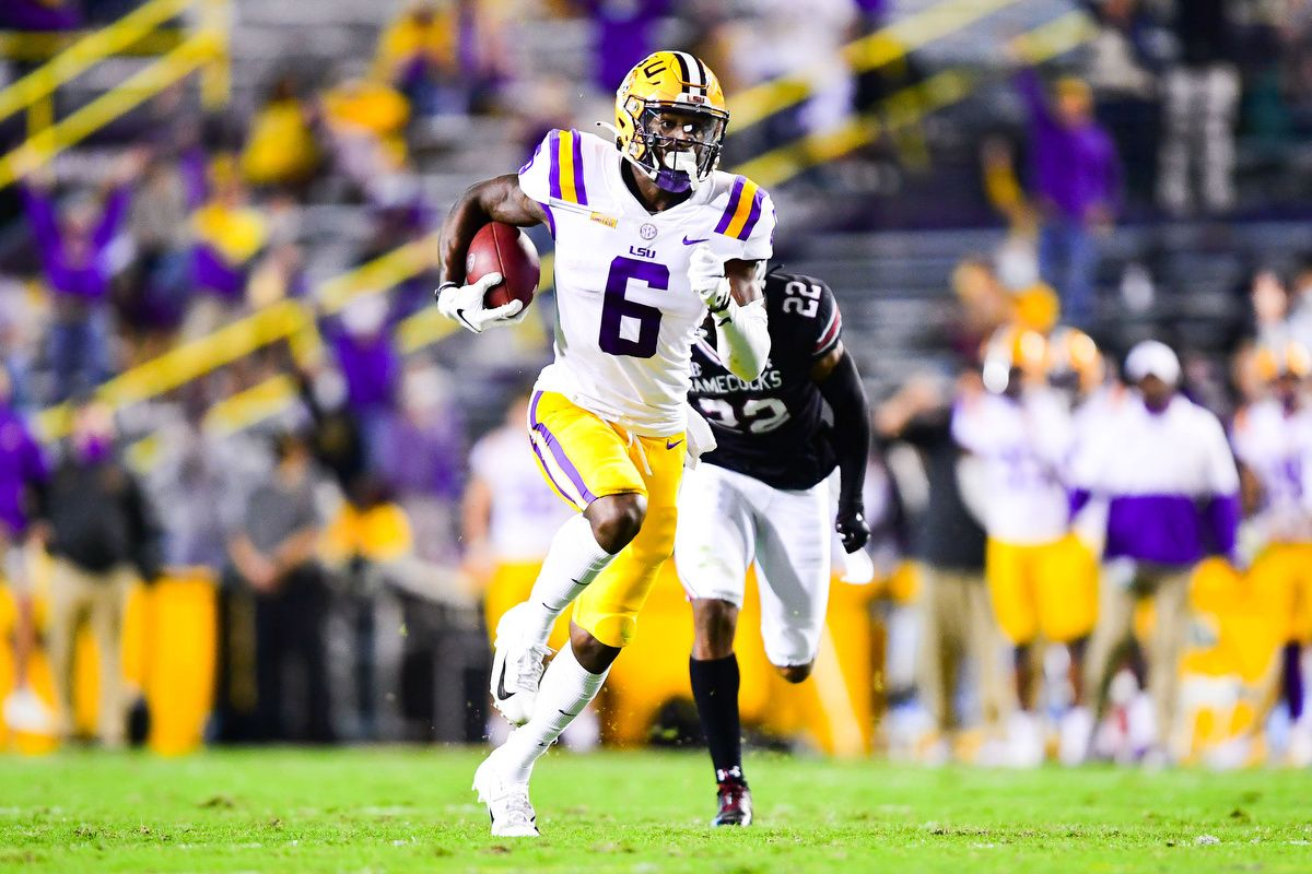 Terrace Marshall Jr. NFL Draft