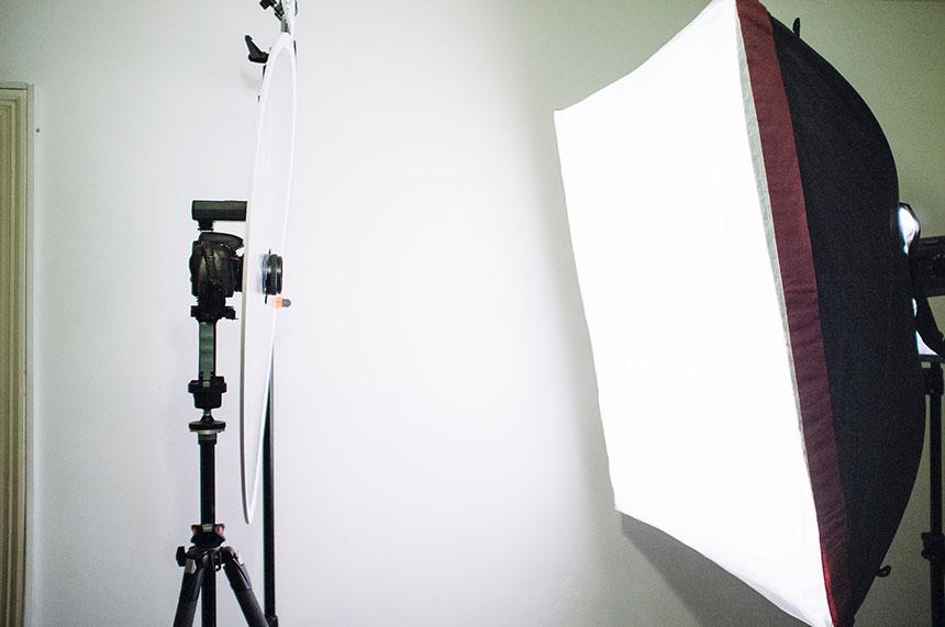 световая схема для портрета