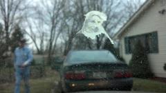 Bird turd Jesus