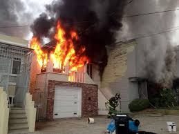 Actual House Fire