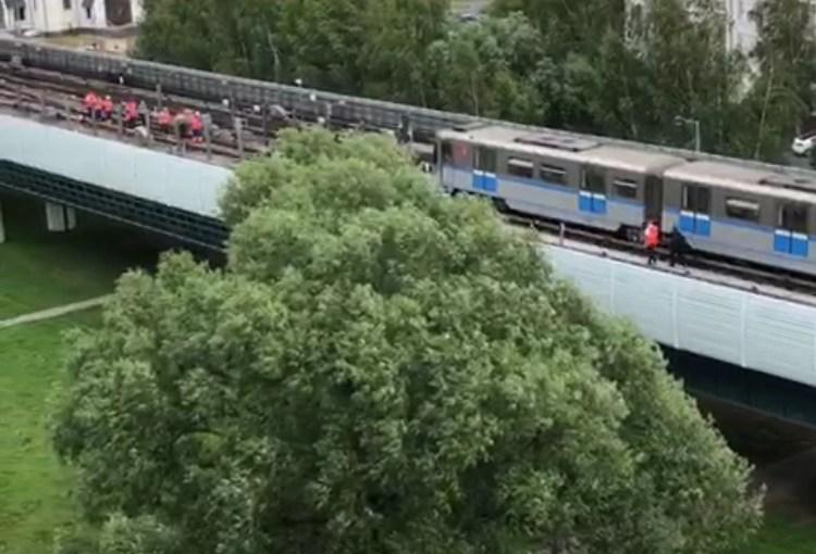 Авария на Бутовской линии